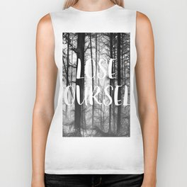 Forest - Lose Yourself Biker Tank