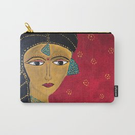 Bride from India Carry-All Pouch