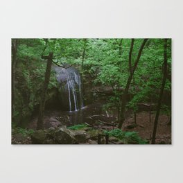 Waterfall at Governor Dodge State Park Canvas Print