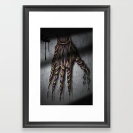 Hold your breath! Framed Art Print