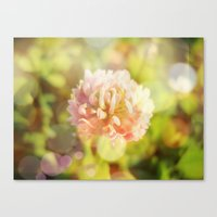 clover Canvas Prints featuring Clover by Magic Emilia