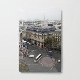 Paris From Up High Metal Print