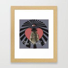 I Love Itt! Framed Art Print