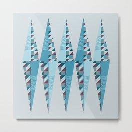 Modern Rhombus Metal Print