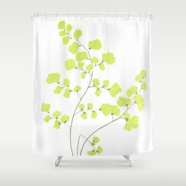 Maidenhair Fern Shower Curtain
