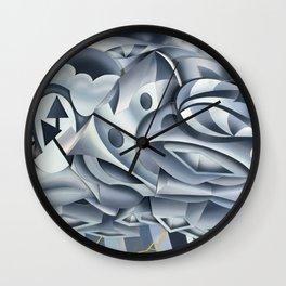 Cumulonimbus Wall Clock