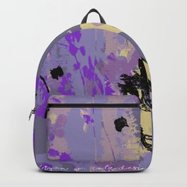 Purple Past Rain Backpack