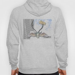 Abstract Stag Hoody