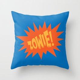 ZOWIE! Throw Pillow