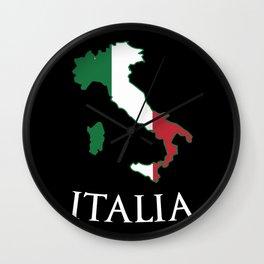 Italy-Italia Wall Clock