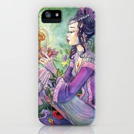 I am Secret Garden iPhone Case