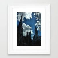 philadelphia Framed Art Prints featuring Philadelphia by Julie Maxwell