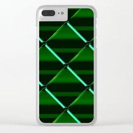 Gem pattern Clear iPhone Case