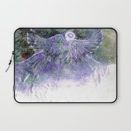 Snow Angel On Mountaintop Above Dewdrop Holler Laptop Sleeve