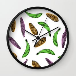 Corn Wall Clock