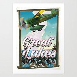 The Great Lakes Art Print