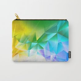 Peace Triangles Carry-All Pouch
