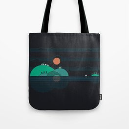 Island Folk Tote Bag