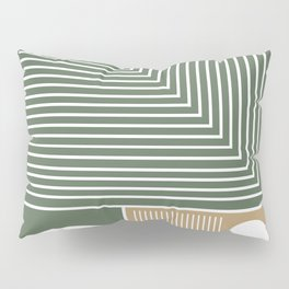 Stylish Geometric Abstract Pillow Sham
