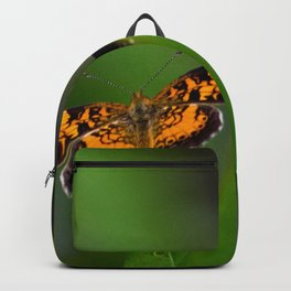 Pearl Crescent Butterfly Backpack