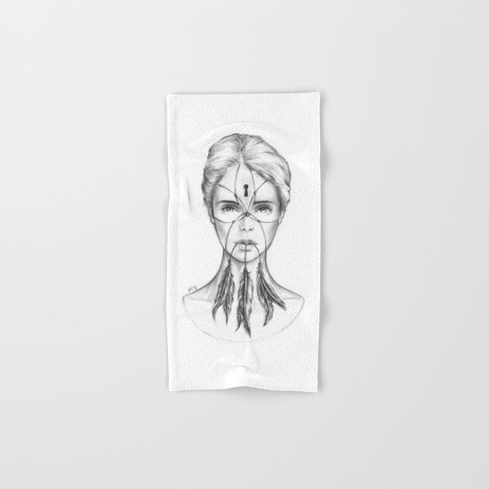 Dreamkeeper (B/W) Hand & Bath Towel