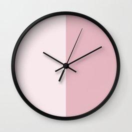 Half Rose Wall Clock