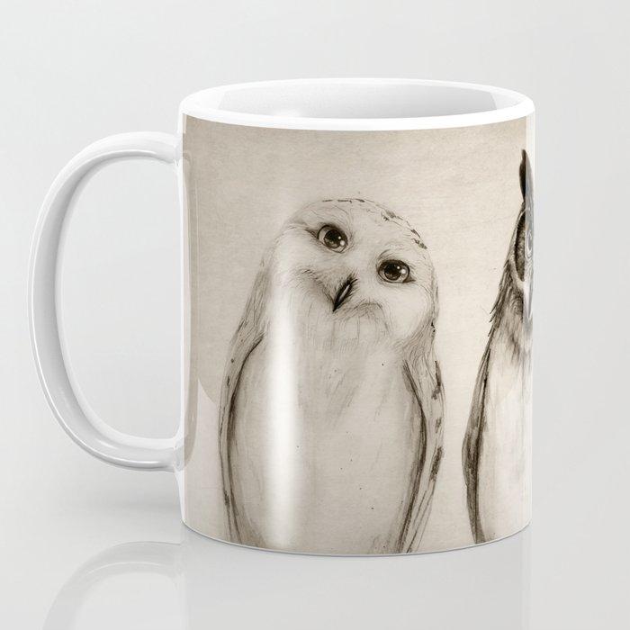 The Owl's 3 Kaffeebecher