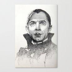 Dracula Bela lugosi Canvas Print