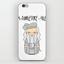 A-DUMBLEDORE-ABLE.  iPhone Skin