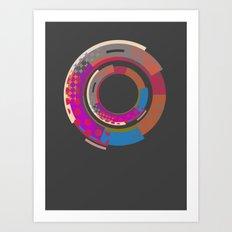magic roundabout Art Print