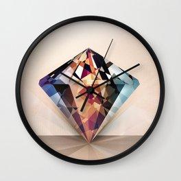 DIAMOND IS A GIRLS BEST FRIEND Wall Clock