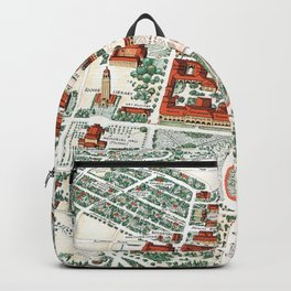 STANFORD CALIFORNIA University map Backpack