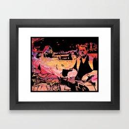 The Dude Abides Framed Art Print
