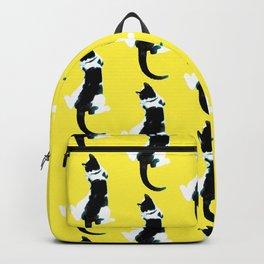 Benji the Cat Yellow Backpack