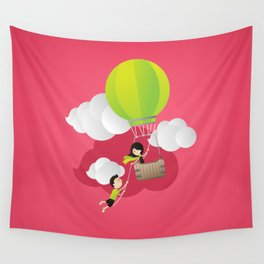 for the adventure of love Wall Tapestry