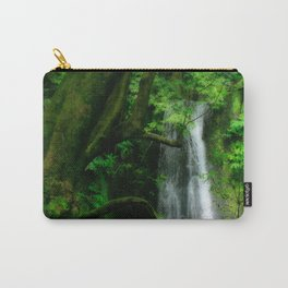 Waterfall in Azores islands Carry-All Pouch
