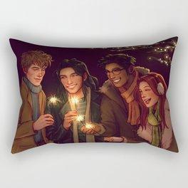 New Year Rectangular Pillow