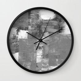 Quiet Painter's Pallette Wall Clock