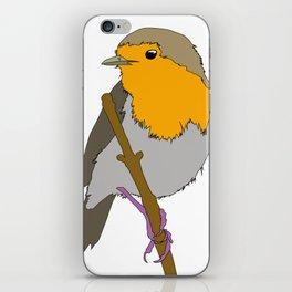 Cartoon Robin iPhone Skin