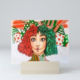 Maddie Ziegler Fanart Mini Art Print