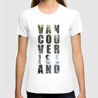 vancouver T-shirts featuring VANCOUVER ISLAND by Amie Enns
