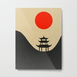 Eastern landscape Metal Print