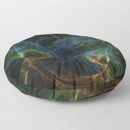 fractal Bunt Floor Pillow
