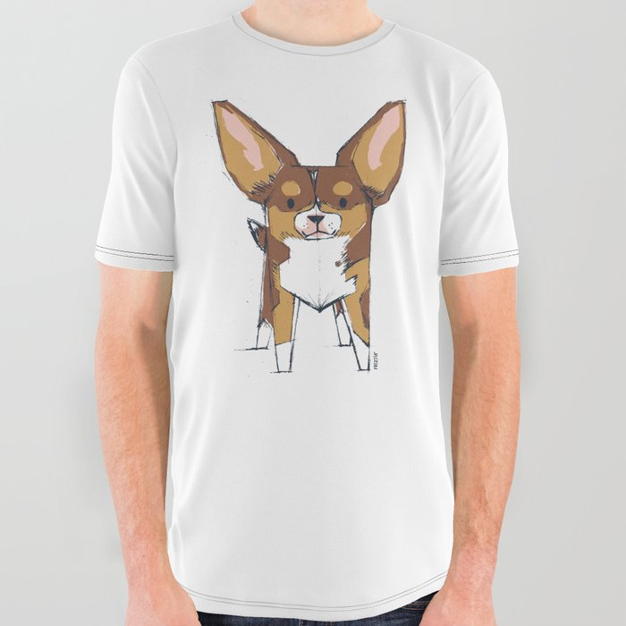 Tibby by Friztin All Over Graphic Tee