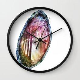 Forest Geode 549 Wall Clock