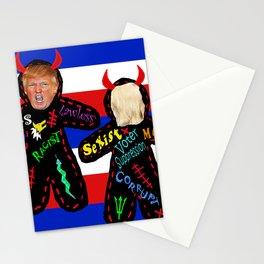 DIY Trump VooDoo Doll Stationery Cards