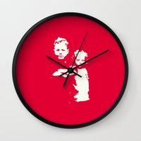 family Wall Clocks featuring Family by JophenStein