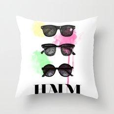 Haim (colour version) Throw Pillow