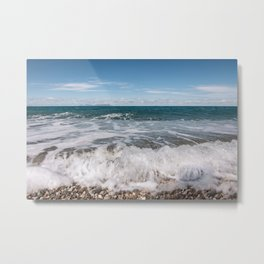October sea Metal Print