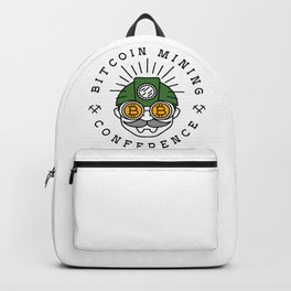 Bitcoin Mining Conference (Gnome Miner Icon) Backpack